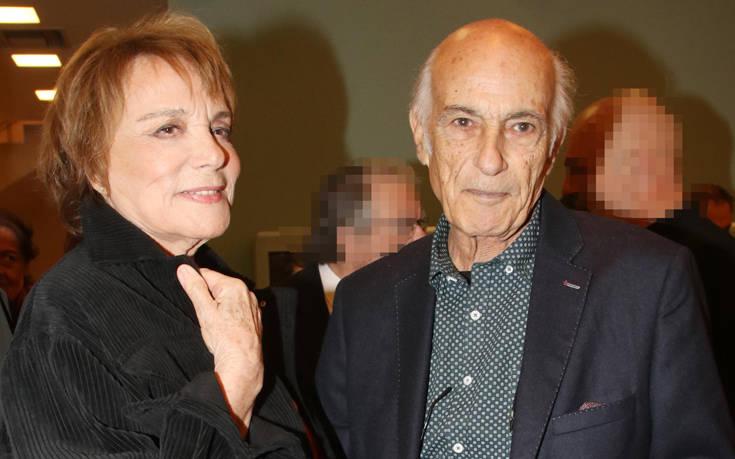 Σπάνια εμφάνιση της Μπέτυς Αρβανίτη με τον σύζυγό της – Newsbeast
