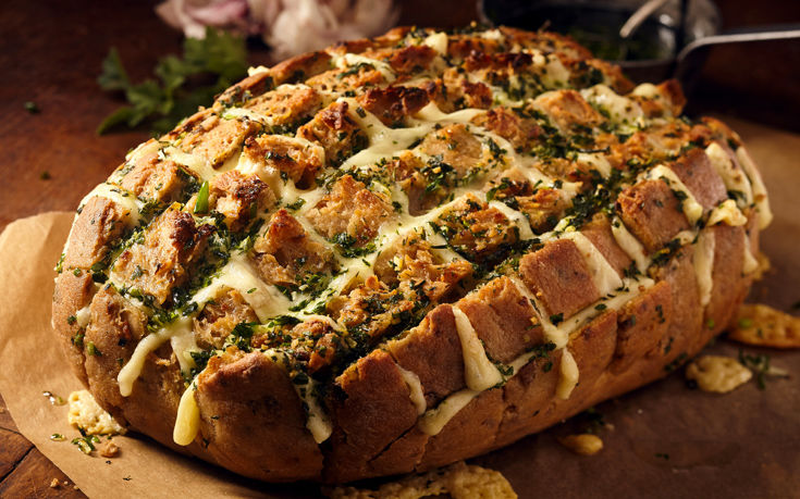Ψωμί γεμιστό με τυρί και μανιτάρια – Newsbeast