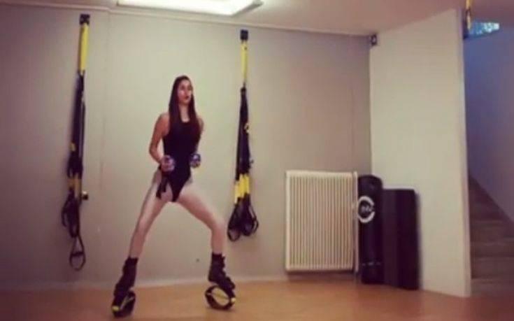 Η σέξι γυμναστική της Ηλιάνας Παπαγεωργίου τρέλανε τους θαυμαστές της – Newsbeast