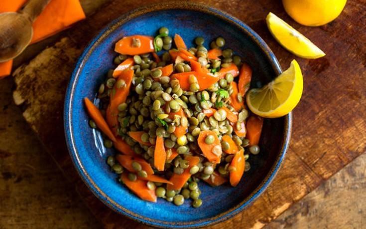 Σαλάτα με φακές και καρότα – Newsbeast