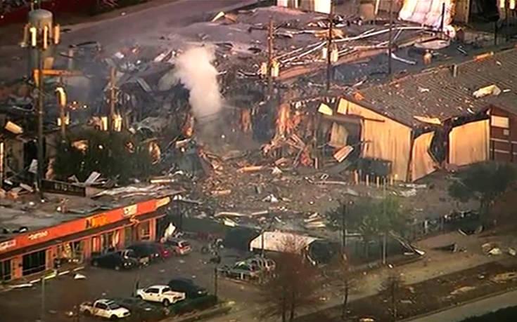 Η στιγμή της ισχυρής έκρηξης στο Χιούστον, ένας άνθρωπος τραυματίστηκε – Newsbeast