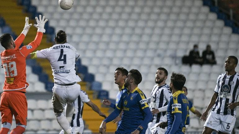 Νίκη με την υπογραφή Μπαράλες για τον Αστέρα, 1-0 τον Απόλλωνα στη Ριζούπολη