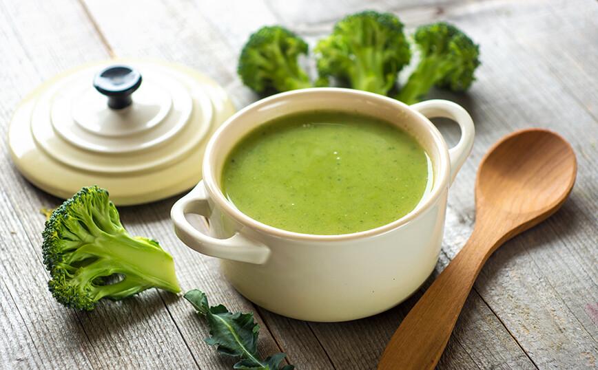 Πανεύκολη σούπα βελουτέ με μπρόκολο